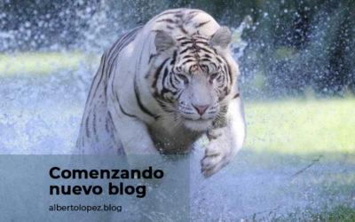Comenzando un nuevo blog