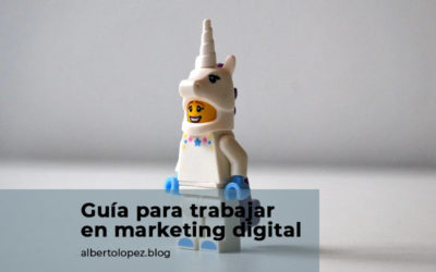 Guía para encontrar trabajo en el sector del marketing digital